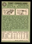 1967 Topps #280  Tony Conigliaro  Back Thumbnail