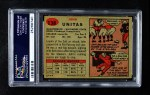 1957 Topps #138  Johnny Unitas  Back Thumbnail