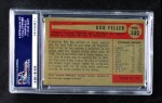1954 Bowman #132  Bob Feller  Back Thumbnail