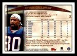 1998 Topps #3  Chris Calloway  Back Thumbnail