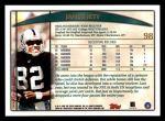 1998 Topps #98  James Jett  Back Thumbnail