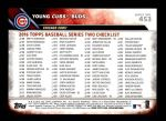 2016 Topps #453   -  Kris Bryant / Anthony Rizzo Young Cubs Buds Back Thumbnail