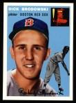 1954 Topps Archives #221  Dick Brodowski  Front Thumbnail