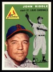 1954 Topps Archives #147  John Riddle  Front Thumbnail