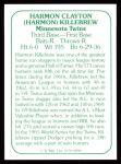 1978 TCMA The 1960's #90  Harmon Killebrew  Back Thumbnail