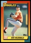 1990 Topps Traded #70 T Ben McDonald  Front Thumbnail