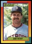 1990 Topps Traded #93 T Dan Petry  Front Thumbnail