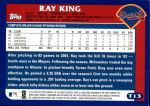 2003 Topps Traded #13 T Ray King  Back Thumbnail