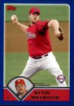 2003 Topps Traded #79 T Kevin Millwood  Front Thumbnail