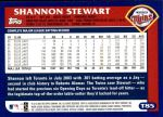 2003 Topps Traded #85 T Shannon Stewart  Back Thumbnail