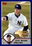 2003 Topps Traded #198 T  -  Jon-Mark Sprowl First Year Front Thumbnail