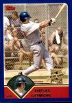 2003 Topps Traded #220 T  -  Dusty Gomon First Year Front Thumbnail