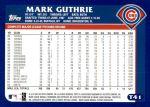 2003 Topps Traded #41 T Mark Guthrie  Back Thumbnail