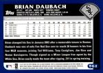 2003 Topps Traded #61 T Brian Daubach  Back Thumbnail