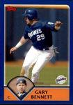 2003 Topps Traded #91 T Gary Bennett  Front Thumbnail