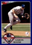 2003 Topps Traded #108 T Aaron Boone  Front Thumbnail