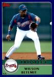 2003 Topps Traded #133 T  -  Wilson Betemit Prospect Front Thumbnail