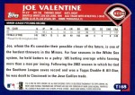 2003 Topps Traded #168 T  -  Joe Valentine First Year Back Thumbnail