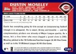 2003 Topps Traded #183 T  -  Dustin Moseley First Year Back Thumbnail