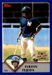 2003 Topps Traded #270 T  -  Ferdin Tejeda First Year Front Thumbnail
