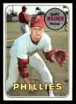 1969 Topps #276  Gary Wagner  Front Thumbnail