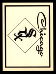 1961 Fleer Team Logo Decals   Chicago White Sox Front Thumbnail