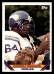 1993 Topps #210  Randall McDaniel  Front Thumbnail