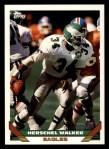 1993 Topps #460  Herschel Walker  Front Thumbnail