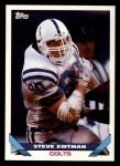 1993 Topps #255  Steve Emtman  Front Thumbnail