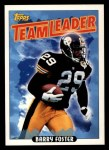 1993 Topps #272   -  Barry Foster Steelers Leaders Front Thumbnail