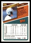 1993 Topps #334  Mark Ingram  Back Thumbnail