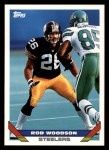 1993 Topps #520  Rod Woodson  Front Thumbnail