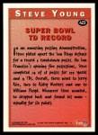 1995 Topps #423  Steve Young  Back Thumbnail