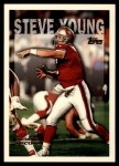 1995 Topps #423  Steve Young  Front Thumbnail