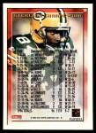 1995 Topps #19  Sterling Sharpe  Back Thumbnail