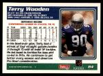 1995 Topps #84  Terry Wooden  Back Thumbnail