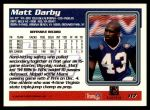 1995 Topps #117  Matt Darby  Back Thumbnail
