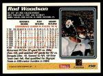 1995 Topps #150  Rod Woodson  Back Thumbnail