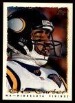1995 Topps #270  Cris Carter  Front Thumbnail