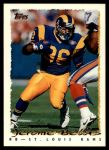 1995 Topps #295  Jerome Bettis  Front Thumbnail