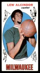 1969 Topps #25  Lew Alcindor  Front Thumbnail