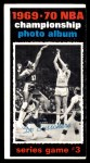 1970 Topps #170   -  Dave Debusschere  1969-70 NBA Championship - Game 3 Front Thumbnail