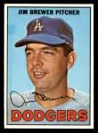 1967 Topps #31  Jim Brewer  Front Thumbnail