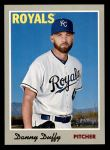 2019 Topps Heritage #37  Danny Duffy  Front Thumbnail