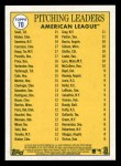2019 Topps Heritage #70   -  Corey Kluber / Luis Severino / Blake Snell AL Pitching Leaders Back Thumbnail