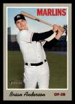 2019 Topps Heritage #93  Brian Anderson  Front Thumbnail