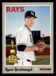 2019 Topps Heritage #181  Ryan Yarbrough  Front Thumbnail