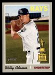 2019 Topps Heritage #211  Willy Adames  Front Thumbnail