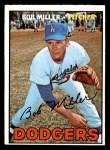 1967 Topps #461  Bob Miller  Front Thumbnail