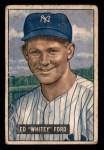 1951 Bowman #1  Whitey Ford  Front Thumbnail